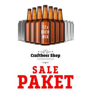 Sale Paket vom Craftbeershop (Verschiedene Biere)