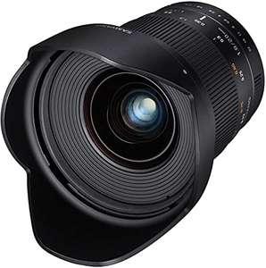 Samyang 20mm f1.8 MF Sony E-Mount [Amazon]
