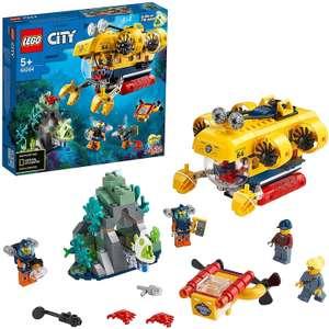 LEGO City Oceans (60264) Meeresforschungs-U-Boot Bauset