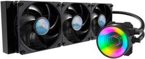 Cooler Master MasterLiquid ML360 Mirror ARGB CPU Flüssigkeitskühler (AIO-Pumpe, 3 x 120 mm SickleFlow V2-Lüfter, AMD & Intel kompatibel)