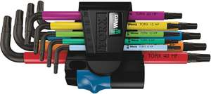 [Prime] Wera SL/9 TORX HF Multicolour Winkelschlüsselsatz, 9 teilig