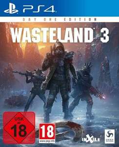 [Lokal Garbsen Sammeldeal] Wasteland 3 Day One Edition PS4 für 9€ uvm..