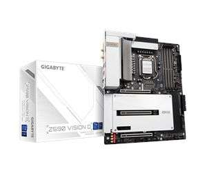 GIGABYTE Z590 VISION D Mainboard - Intel Z590 - Intel LGA1200 socket - DDR4 RAM - ATX [Proshop]