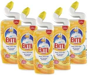 WC Ente Total Aktiv Gel Flüssiger WC Reiniger5er Pack, Couponfehler, edit: Preislotterie