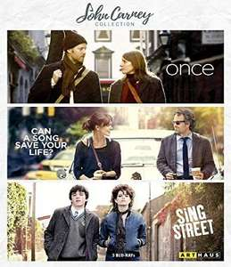 John Carney Collection - Once / Can A Song Save Your Life? / Sing Street [3 Blu-rays] [Prime]