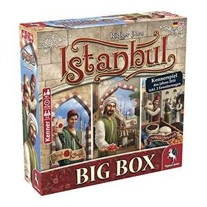 Pegasus Spiele - Istanbul Big Box für 26,99€ o. als Würfelspiel für 13,99€