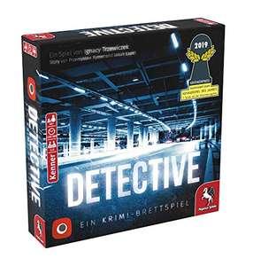 [Prime] Brettspiele Sammeldeal, z.B. Pegasus Spiele 57505G - Detective - Nominiert zum Kennerspiel 2019 - BGG 7,8