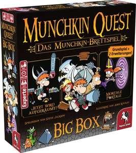 Munchkin Quest Big Box Brettspiel