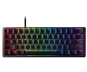 Razer Huntsman Mini Black Gaming Tastatur (Clicky Optical Switches Purple, deutsches Layout)
