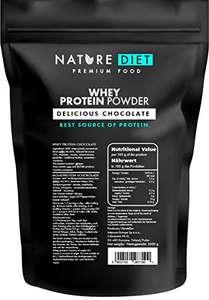 [ Amazon Sparabo ] Nature Diet Molke Protein Pulver, Schokolade, 1er pack (1 x 1 kg)