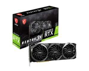 MSI GeForce RTX 3080 TI VENTUS 3X 12 GB Enthusiast