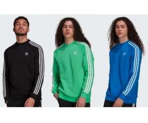 adidas Adicolor Classics 3-Streifen Sweatshirt (Größen XS bis XXL)