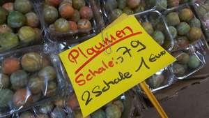 Lokal Rostock 1 Kilo Zuckerpflaumen für 1 €