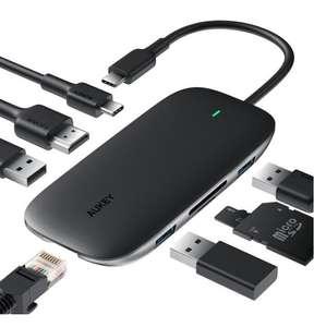 Aukey Produkte mit Bestpreisen z.B.: Aukey CB-C71 8 in 1 USB-C Hub - 25,90€ / AUKEY EP-T10 Bluetooth In-Ear - 20€ / AUKEY Smartwatch - 15€