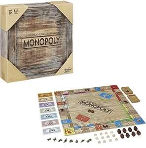 Monopoly Rustic - Sonderedition aus Holz - deutsch