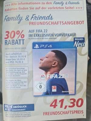 Real Family & Friends Fifa 22 für PS4. (Auch für: Ps5, Switch, Xbox Preise siehe Beschreibung)