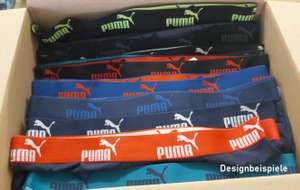 Puma Boxershorts Überraschungspakete 15 Stück für 19,99€ (nur noch Größe S)
