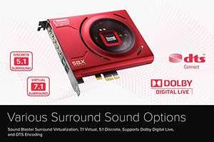 CREATIVE Sound Blaster Z SE interne PCI-e Gaming Soundkarte und DAC, 24-Bit/192kHz, 116dB SNR, ASIO, 600Ω Kopfhörerverstärker