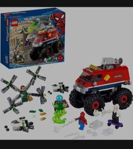 Amazon - LEGO76174SuperHeroesMarvelSpidermansMonstertruck