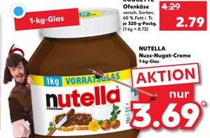 [Kaufland] 1kg Nutella Glas