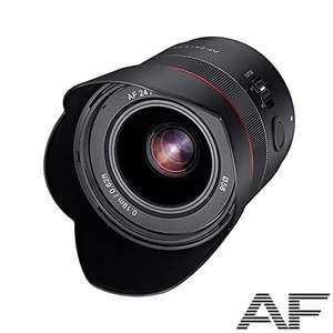 [Amazon.de] Samyang AF 24mm F1,8 FE für Sony E-Mount Vollformat & APS-C