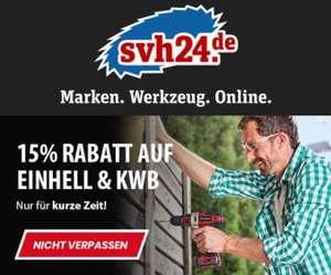15% auf Einhell & kwb bei svh24