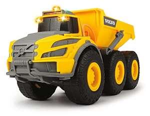 Dickie Toys Volvo Knickgelenkter Dumper, Muldenkipper, Baufahrzeug, Kabine & Ladefläche kippbar, Licht & Sound 23cm für 8,89€ (Amazon Prime)