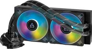 Arctic Liquid Freezer II 240 A-RGB Komplettwasserkühlung (2x120mm, 200-1800rpm) für AM4 & Intel-CPUs
