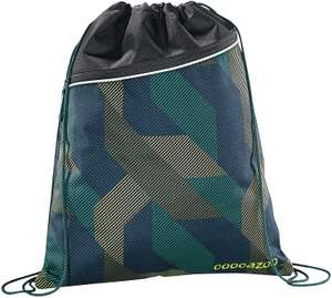 Coocazoo Pocket Rocket Turnbeutel Sportbeutel Gym Bag Schuhbeutel, Farbe:Polygon Brick