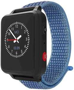 (Sichere) Smartwatch für Kinder - Lupus ANIO (blau) - bislang bester Preis - Made in Germany