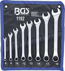 Maul-Ringschlüssel-Satz | 8-tlg. | SW 6 - 19 mm | inkl. Tetron-Rolltasche + einiges anderes BGS-Werkzeug Sammeldeal