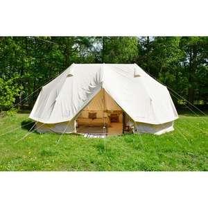 Zelte Sammeldeal(11), z.B. Nordisk Vanaheim 40 m² Zelt Technical Cotton beige, Stellmaß 800x495 cm [Campz]