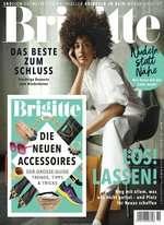 Brigitte Abo (29 Ausgaben) für 91,90 € mit 90 € BestChoice/ 85 € Amazon-Gutschein oder 95 € Otto-Gutschein