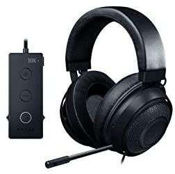 RAZER Kraken Tournament Edition schwarz Gaming-Headset [Over-Ear, 3,5mm Klinke & USB, mit PC & Spielekonsolen kompatibel]