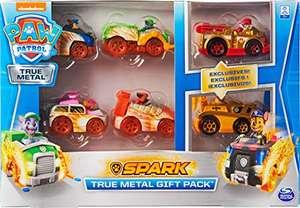 PAW Patrol True Metal Geschenkset mit sechs Metall Fahrzeugen für 19,99€ (Amazon Prime)