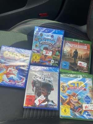 [Lokal Mediamarkt Saarlouis] Black Ops Cold war, Sackboy a Big Adventure, Crash Bandicoot 4, Crash Team Racing, Desperados 3 für je 10€