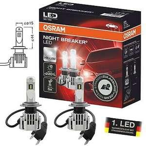 Osram Night Breaker LED H7 mit teilweiser Straßenzulassung +220% Helligkeit