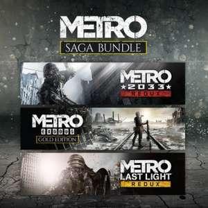 Metro Saga Bundle (Steam) für 20,61€ (Steam Shop)