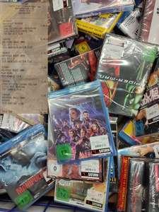 günstige Blurays im Saturn Köln Hansaring: z.B. 2€ für Kill Bill, 5€ Avengers Endgame
