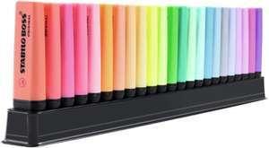 STABILO BOSS ORIGINAL Textmarker 23er Tischset - 9 Leuchtfarben, 14 Pastellfarben für 13,59€ (Müller Abholung)