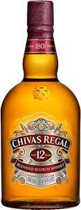 Chivas Regal 12 Jahre Blended Scotch Whisky 1 Liter 40% [Amazon Prime]