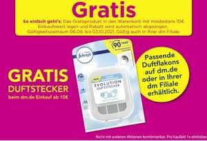 [dm] Gratis febreze Duftstecker 3volution beim Kauf beliebiger Produkte