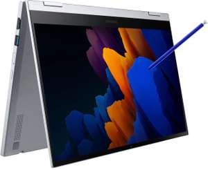 "Samsung Galaxy Book Flex2 5G (13.3"", FHD, QLED, 600cd/m², Touch + Stift, i7-1165G7, 16/512GB, TB4, USB-C PD, HDMI, 70Wh, Win, 1.26kg)"