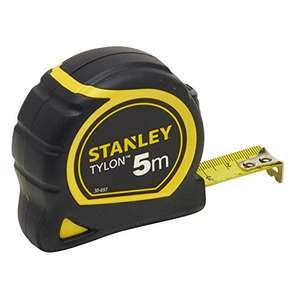 Stanley Bandmass Tylon, 5 m, Tylon-Polymer Schutzschicht, verschiebbarer Endhaken für 6,34€ (Amazon Prime)