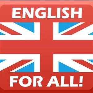 English for all! Pro - Englisch für alle! (4,4* >100.000 Downloads, keinerlei Werbung, offline nutzbar) [Android-Freebie]