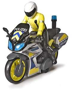 Dickie Toys – Polizei Yamaha Motorrad mit Polizisten-Figur, mit Blaulicht & Sirene, 17 cm lang für 11,29€ (Amazon Prime)