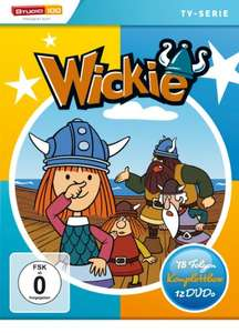 Wickie und die starken Männer - Komplettbox (12 DVDs) für 19,97€ (Amazon Prime)