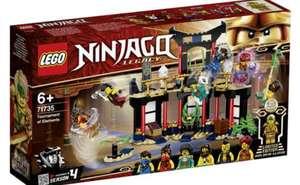 2x 71735 LEGO® NINJAGO Turnier der Elemente (Einzelpreis 18,46€)