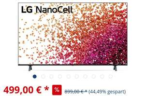 LG 55NANO759PA Nanocell TV 55 Zoll (139 cm), 4k UHD, Smart TV