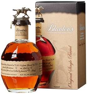 Blanton's Original Single Barrel Whiskey 0,7l 46,5% für 69 bei Amazon